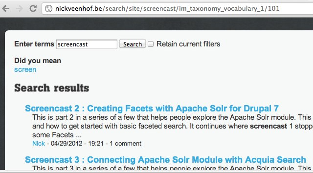 Clean Url's for Apache Solr and Facet Api